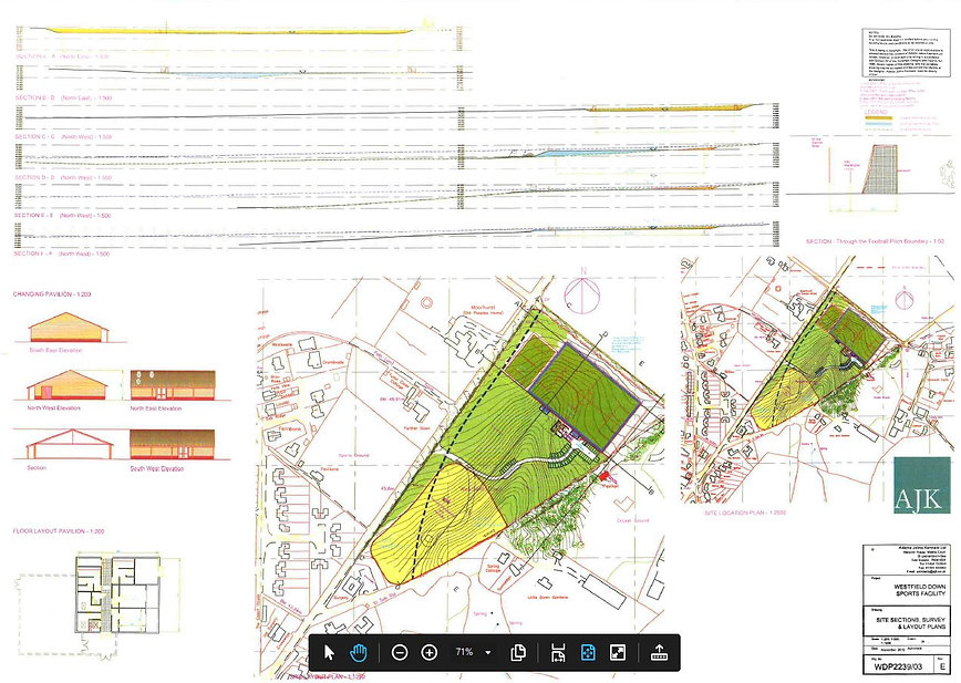 Westfield Downs Project Football Plans
