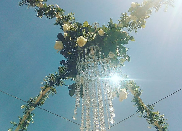 CRYSTALCHANDELIERDROPNONPOWERED1MTR