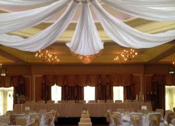 CEILING DRAPING 8 X 10M LENGTHS