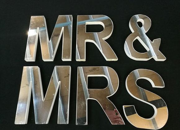 MR & MRS MIRROR 20CM