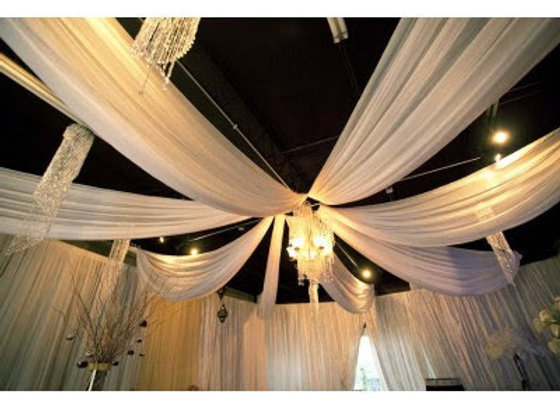 CEILING DRAPING INSTALLATION