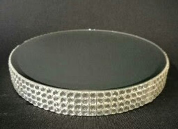 HEIGHT BOX SMALL ROUND BLING 10CM