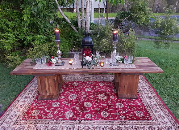RUSTIC TABLE LOW
