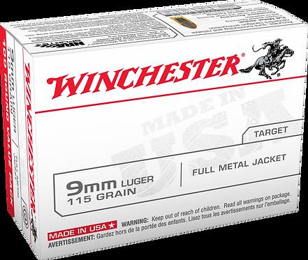 Winchester 9MM Luger, 115 Grain