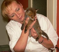 Heidi mit Gustav