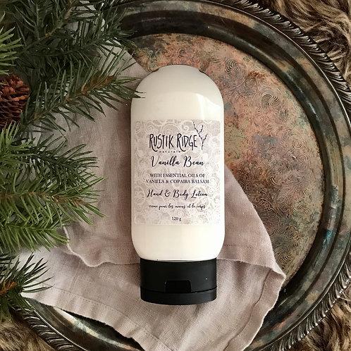Vanilla Bean Hand & Body Lotion