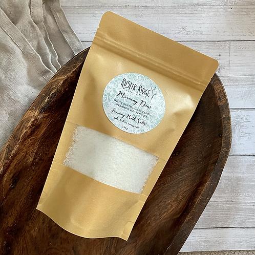 Morning Dew Foaming Bath Salts