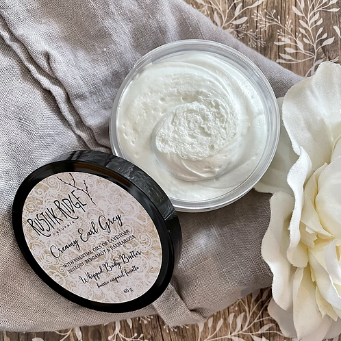 Creamy Earl Grey Whipped Body Butter