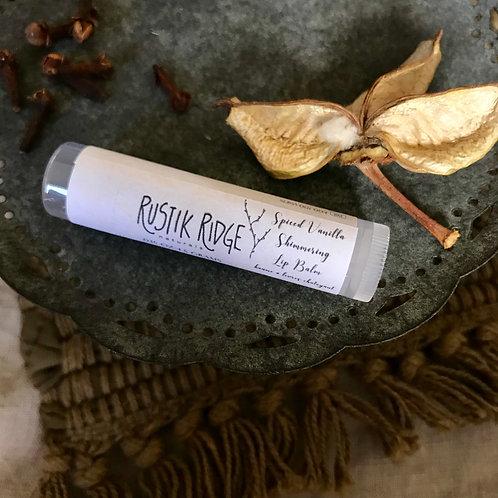 Spiced Vanilla Shimmering Lip Balm