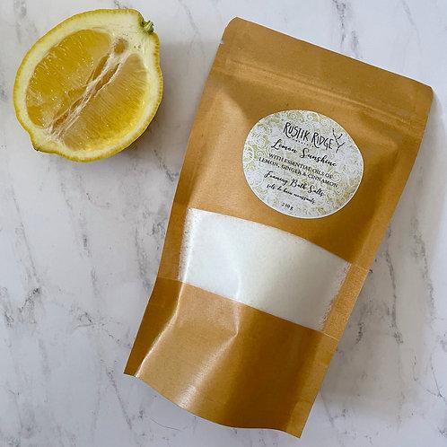 Lemon Sunshine Foaming Bath Salts