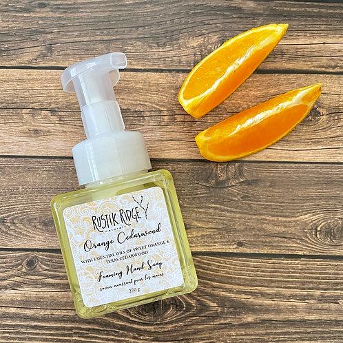 Orange Cedarwood Foaming Hand Soap