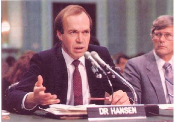 James Hansen's testimony to congress was controversial both politically and scientifically. Conservatives opposed the implications for increased regulation, and scientists worried that Hansen had gone beyond the evidence