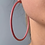 Thumbnail: Harriet hoop earrings PINK