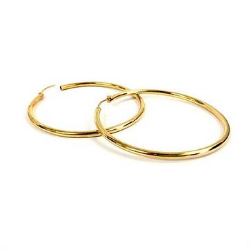 Harriet Hoop earrings Gold plated