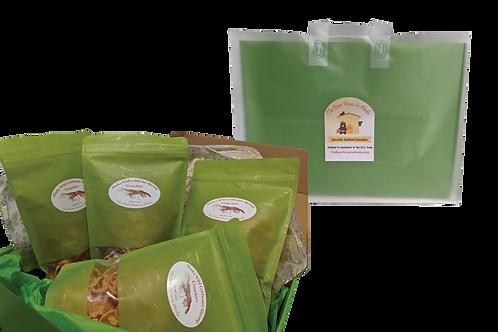 Free Local Juneau Delivery of the Alaska Wild Shrimp Crunchies Set
