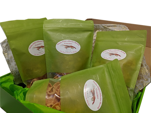 Alaska Wild Shrimp Crunchies Set