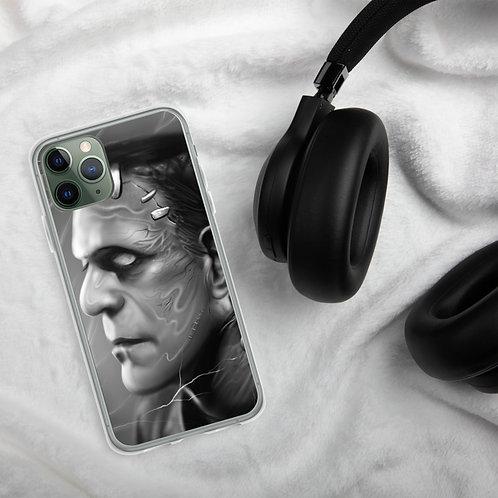 Frankenstein Monster iPhone Case by Michael Carlson