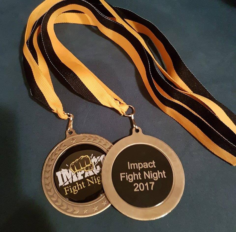 Laser Engraved Boxing Medals