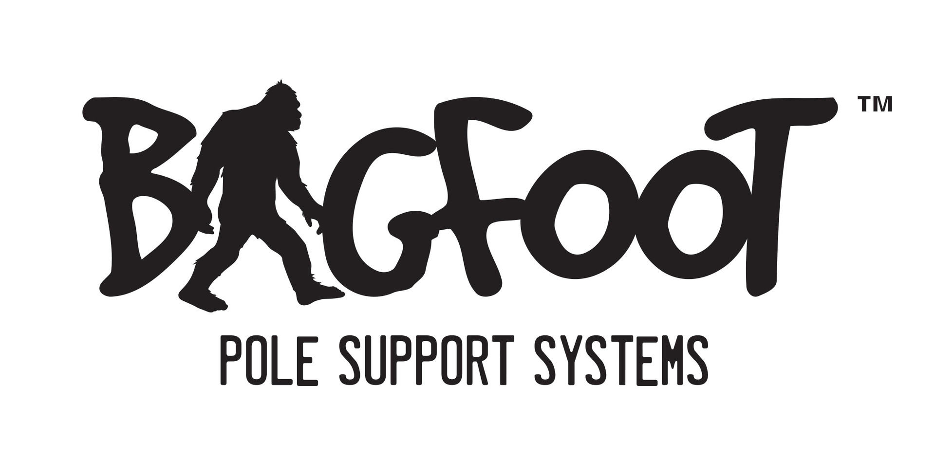 Bigfoot Logo Pole Support Logo