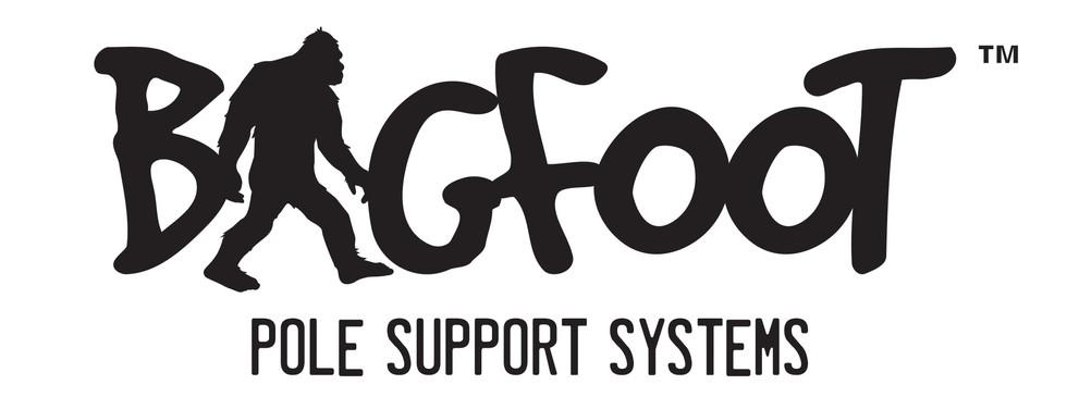 Bigfoot Logo Pole Support Logo