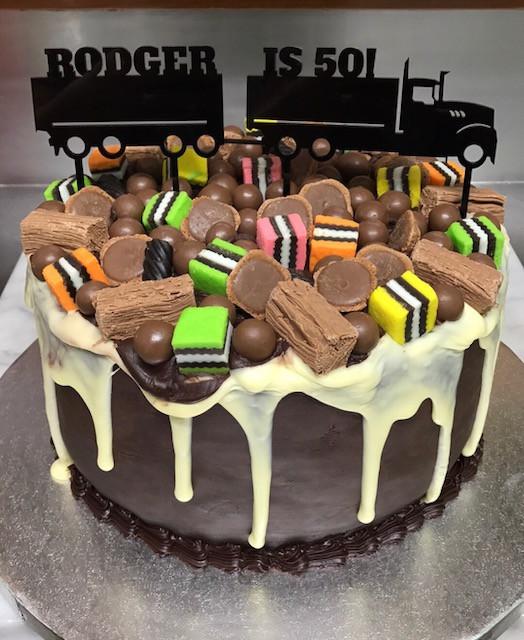 Lasercut Acrylic Cake Topper
