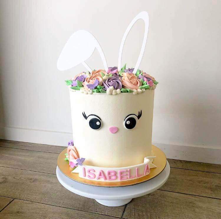 Lasercut Acrylic Cake Topper Ears