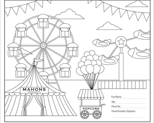 A&P Show Colouring Competition