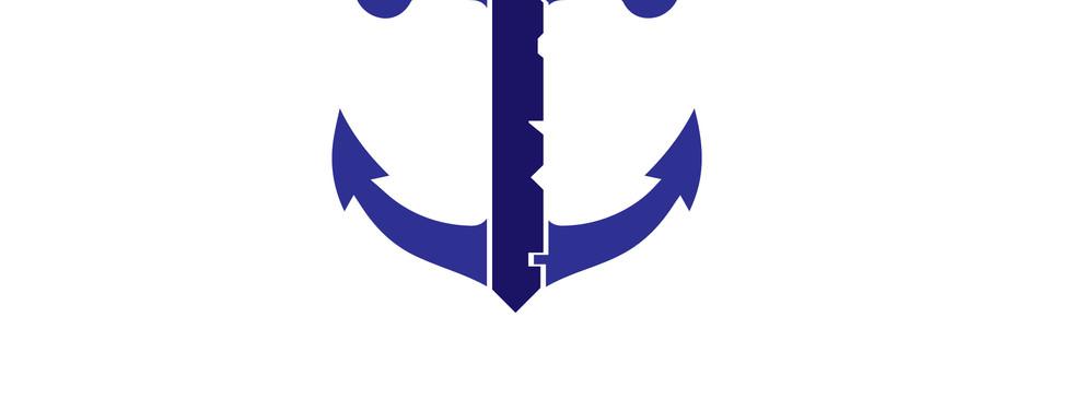Anchors Down Logo