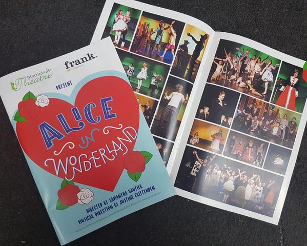 Morrinsville Theatre Program Printed