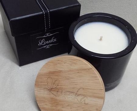 Laser Engraved Candle Lids