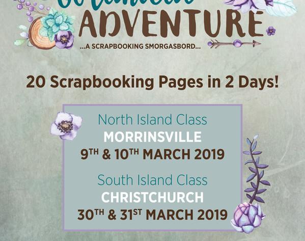 Botanical Adventure Classes Poster