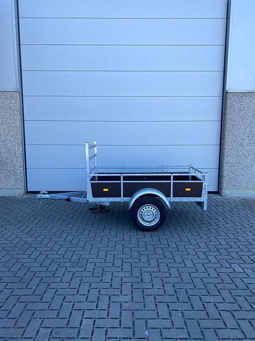 Enkelas aanhangwagen 200 x 110cm 750kg