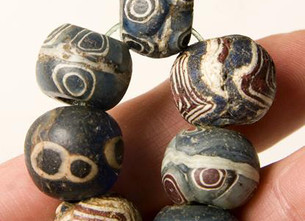 Ancient Islamic beads excavated in Mali