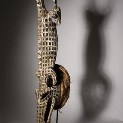 Crocodile Mask, Nigeria