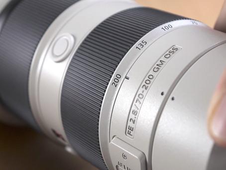 Sony SEL 70-200mm f/2.8 G-Master