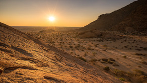 Namibia SELF DRIVE TOUR Tag 6 - Landschaft und Leopard