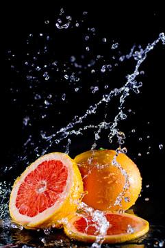 Spritzige Früchte