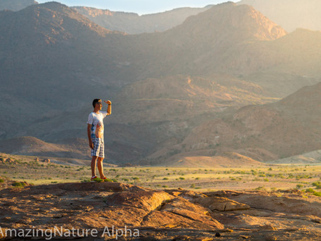Namibia SELF DRIVE TOUR Tag 8 - Ankunft am Brandberg