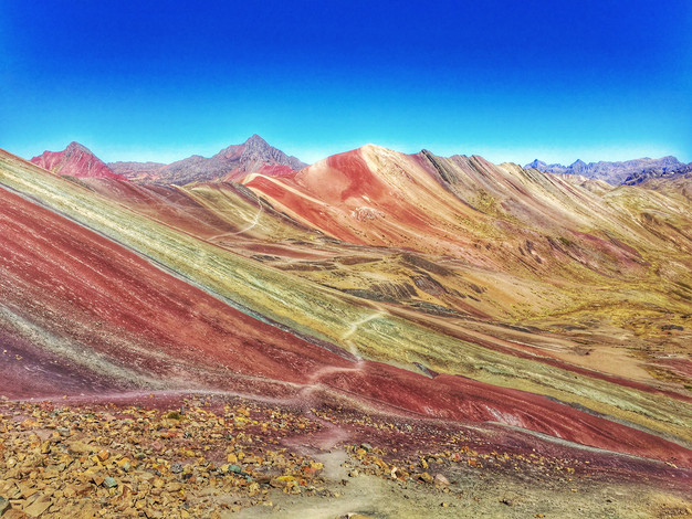 Image result for rainbow mountains in vinicunca peru