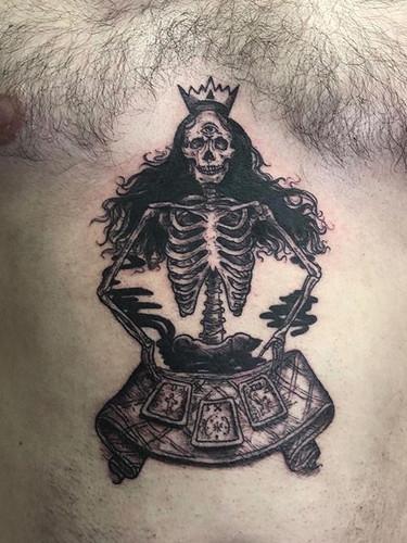 Tattoo from the Okanagan tattoo Show las