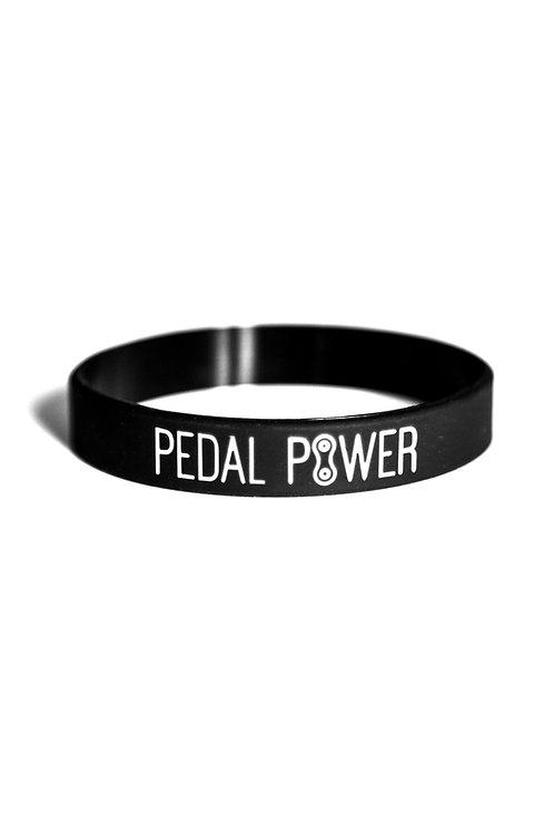 Pedal Power wristband