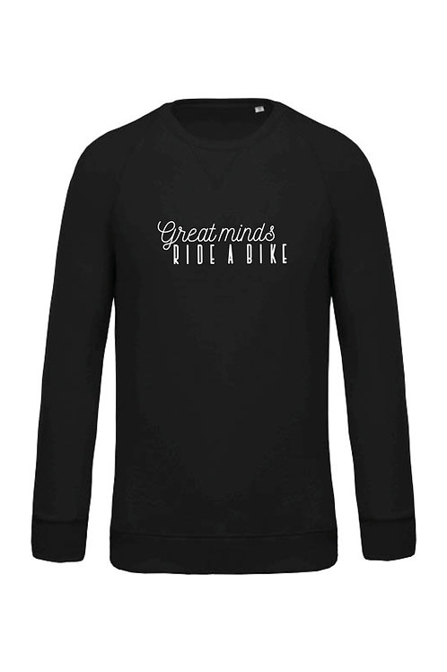 Great minds ride a bike sweater - Men