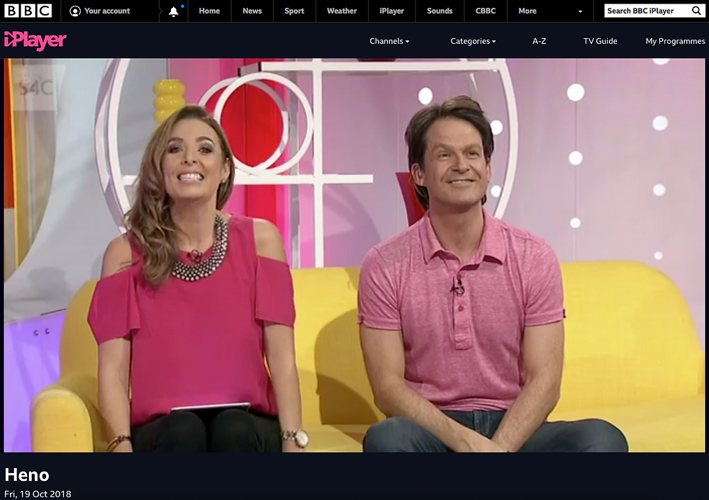 Canolfan y Fron iPlayer