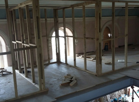 Gwaith Capel | Chapel Conversion: Gorffennaf | July 2017