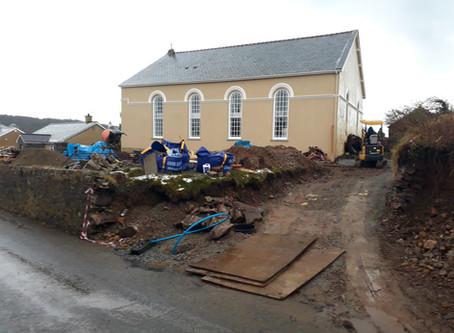 Gwaith Capel | Chapel Conversion: Rhagfyr | December 2017