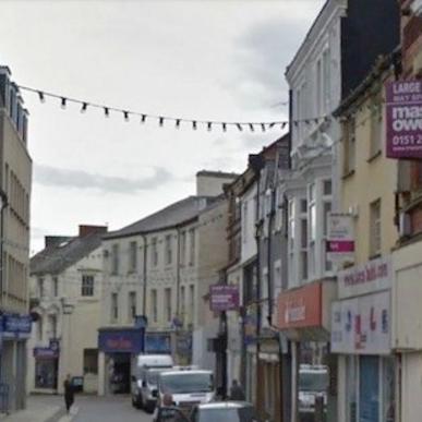 Bangor High Street - closed for business?