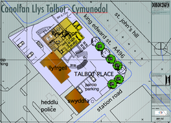 Canolfan Llys Talbot