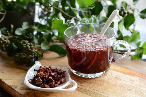 りんごのハーブティ(食べる紅茶)
