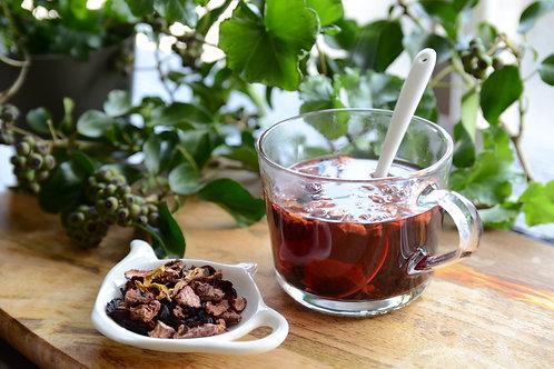 森の果物ハーブティ(食べる紅茶)