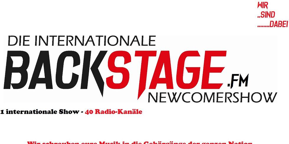 Backstage.FM - Die Newcomershow